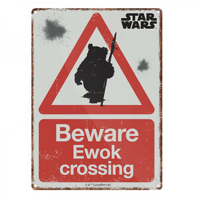 Star Wars Ewok Crossing Small Tin Sign