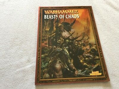 Warhammer Armies: Beasts of Chaos - Supplement Book for WHFB