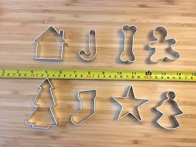 Metal Cookie Cutters Set Xmas Stainless Steel Cookie Cutter