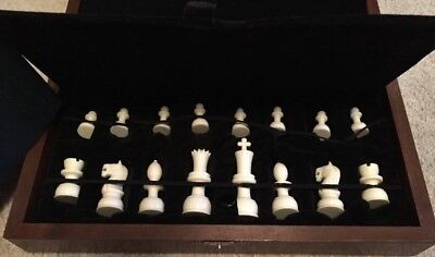Japanese Hand Carved Chess Set