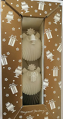 Celebration Angels Retired Margaret Furlong  Porcelain Bisque Angel Ornaments