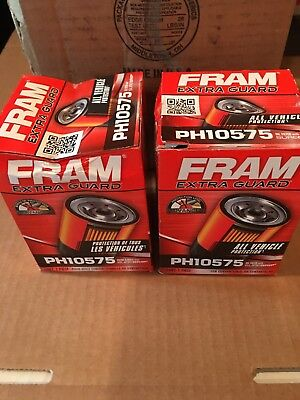 PH10575 Spin On Oil Filter LOT OF 2 FREE SHIPPING USA