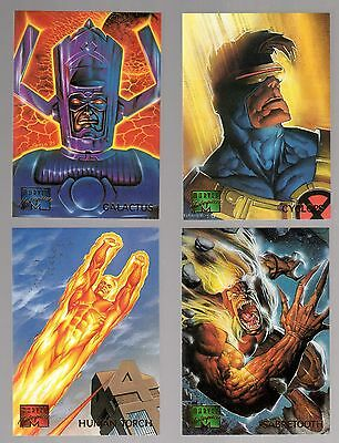 1995 Marvel Masterpiece Base Set Singles (Pick any One from the list below)