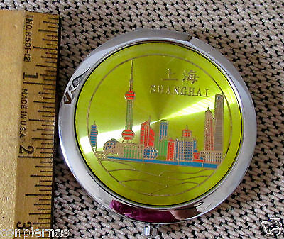 Shanghai compact mirror with magnifying mirror
