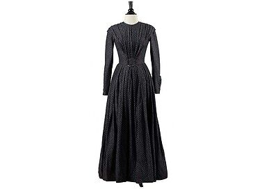 Mia Wasikowska Screen Worn Dress from Jane Eyre Victorian Period Gown Judi Dench