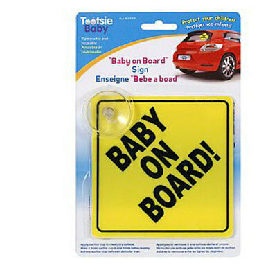 Baby On Board Sign Infant Health Safety Car Sign
