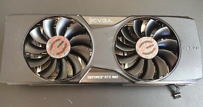 • Evga GTX 980 Acx 2.0 Cooler heatsink with fan fans ONLY! NO GPU!