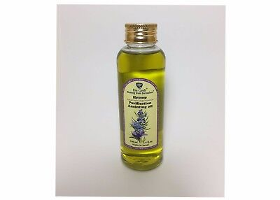 Hyssop Anointing Biblical Oil 100ml - 3.4fl oz- Blessed from Jerusalem