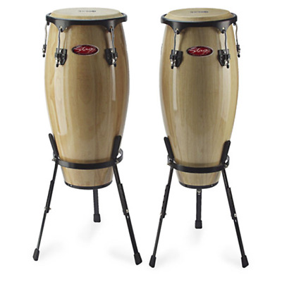 Stagg 10 inch and 11 inch Natural Congas