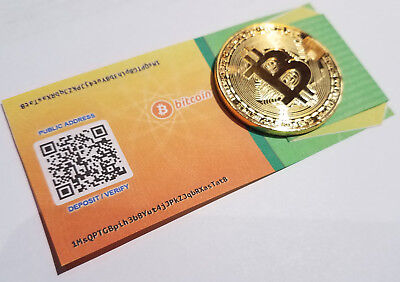 Secure BITCOIN Wallet Card- Safe Offline Cold Storage/GIFT + Bitcoin Token Offer