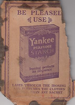 VINTAGE YANKEE PERFUME STARCH PACK early 1900's