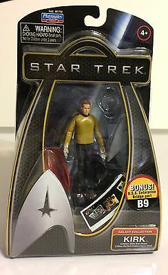 Playmates, Star Trek Galaxy Collection, Captain Kirk Action Figure, 2009, Nib