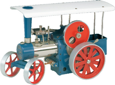 Wilesco D495 Steam Traction Engine with Radio Control Brand New Free Shipping