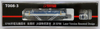 Rokuhan T008-3 Z Scale Electric Locomotive JR EF66 Later Ver. Renewed Design NZA