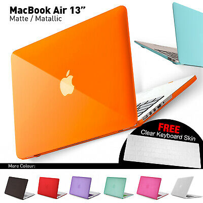 Matte Hard Case Cover Shell Protection For Apple MacBook Air Pro Retina 13""