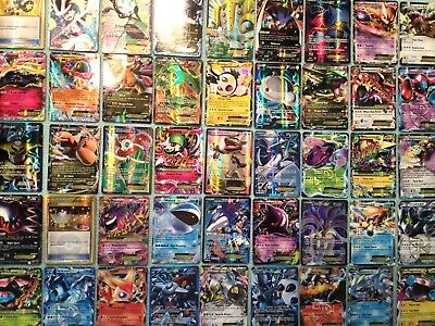 Pokemon 1 Random Holo Card : Guaranteed Gx / Mega / Ex / Full Art / Reverse Rare