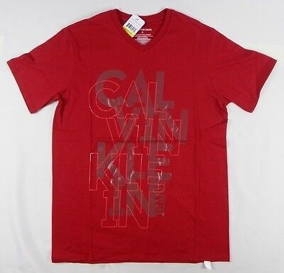 Calvin Klein Big Boys' Screen Print T-Shirt size 10/12