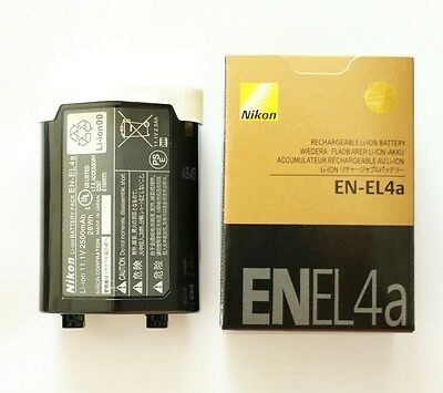 New EN-EL4A Battery For Nikon D2x D2xs D3 D3S D3X F6  D2 D2H D2Hs MH-22 2500mah