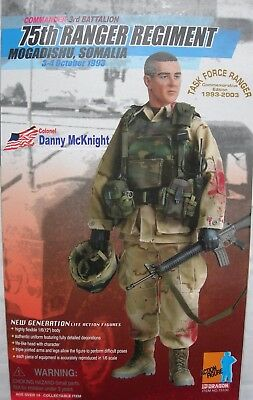 """Dragon DML collectable action figure 1/6 scale 12"""" from Black Hawk Down"""