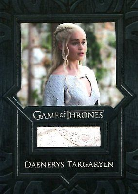 Game Of Thrones Valyrian Steel RELIC card VR3 DAENERYS TARGARYAN CAPE