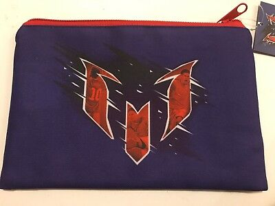 NEW! Lionel MESSI Pencil Case Soccer Football Barcelona