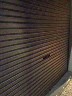 Double Garage Doors - with 1 Motors/Control, tracks and 2 remotes