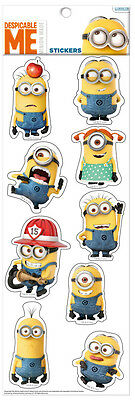 MINIONS - Despicable Me - großer Aufkleber Set - Big Sticker Sheet - Neu