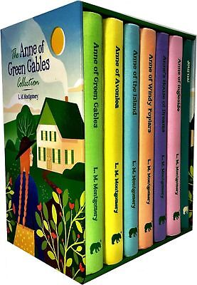 Anne of Green Gables 6 Books Set Collection Deluxe Hardcover L. M. Montgomery