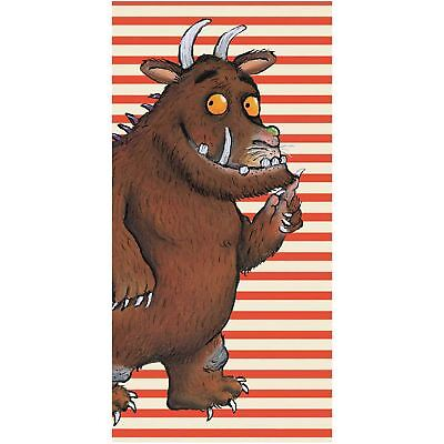The Gruffalo Stripe Towel 100% Cotton Velour Feel Quality Official New