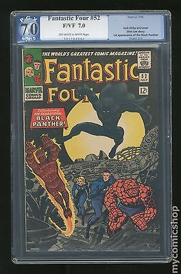 Fantastic Four #52 PGX 7.0 (like CGC) 1st app of black panther 1962