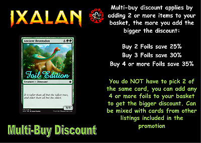 MTG Ixalan XLN Choose your Common Foil New - Buy 2 or more & save 10%