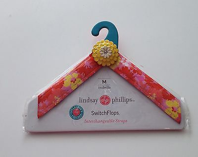 Lindsay Phillips Switch Flops Straps Size Medium Isabella  New In Package