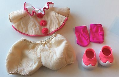 Cabbage Patch Doll Kids Clown Outfit Top Bottoms Socks Shoes Vintage Coleco