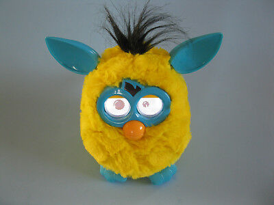 Furby Electronic Talking Toy--Yellow and Blue