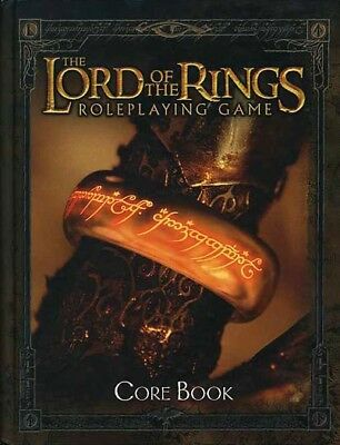 LORD OF THE RINGS ROLEPLAYING GAME LOTR EXC+! CORE BOOK HC J.R.R. Tolkien RPG