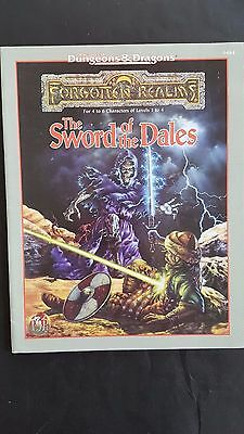 """ The SWORD Of The DALES"" FORGOTTEN REALMS AD&D 2nd Edt TSR # 9484 Nr MINT LV1/4"