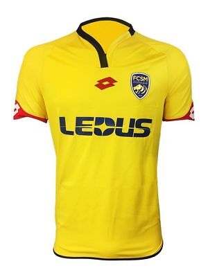 Lotto Mens FC Sochaux-Montbeliard FCSM Football Home Jersey Shirt 2016 2017