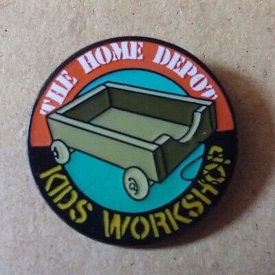Home Depot Kids Workshop Pins Lot of 4