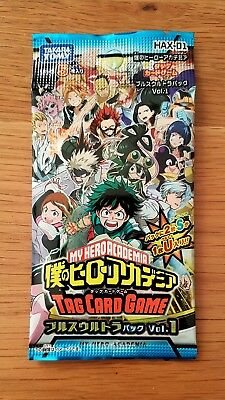 Booster My Hero Academia TCG (Tag Card Game) Part HAX.
