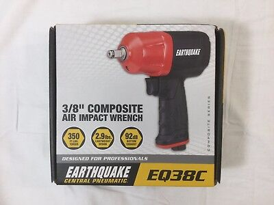 Earthquake EQ38C 3/8 in. Composite Air Impact Wrench (#63061) *Free Shipping*