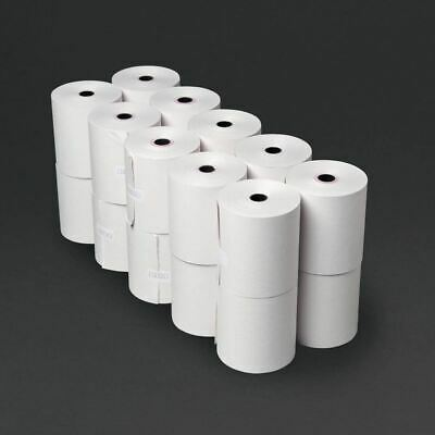 /& Box of 20-76mm x 76mm Single Ply Paper Till  Printer Receipt Rolls 71:3