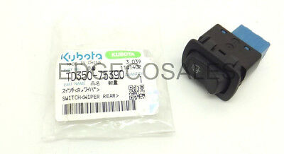 "Kubota ""B, L & STW Series"" Tractor Rear Wiper Switch - *TD35075390*"