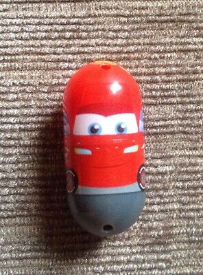 Mighty Beanz ~ Disney Cars 2 ~ 2011 ~ #16 Lightning McQueen ~ Collectable Beans