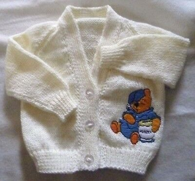 Winnie the Pooh Knitted baby cardigan  (New)