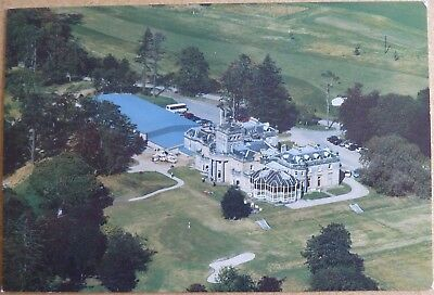 Postcard of Letham Grange Hotel and Golf Course, near Arbroath, Angus.