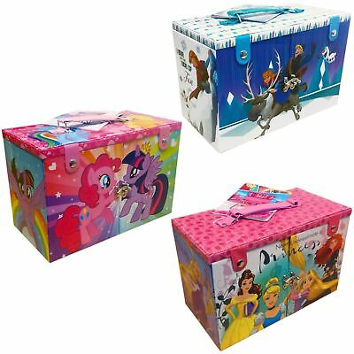 Kids Girls Makeup Set Station Beauty Case Disney Frozen Princess My Little Pony