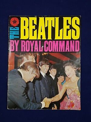 1963 Beatles By Royal Command Book United Kingdom Daily Mirror Publication
