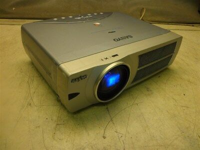 Sanyo Pro-X Multiverse Projector Model Plc-Xu31-Works Lamp Replace Is On