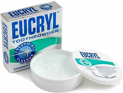 Eucryl Tooth Powder Freshmint  Flavour  Powerful Stain Removal 50 g