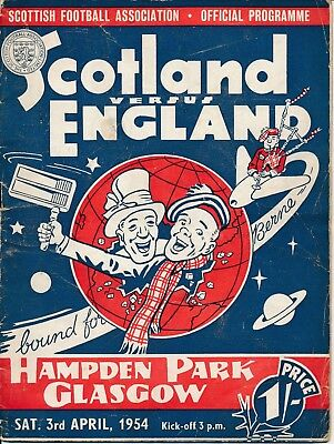 Scotland v England (Home International) 1954